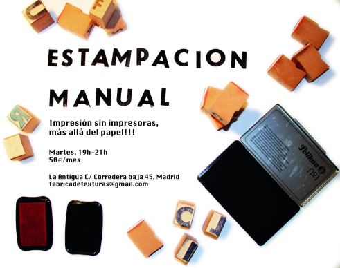 estampacion manual