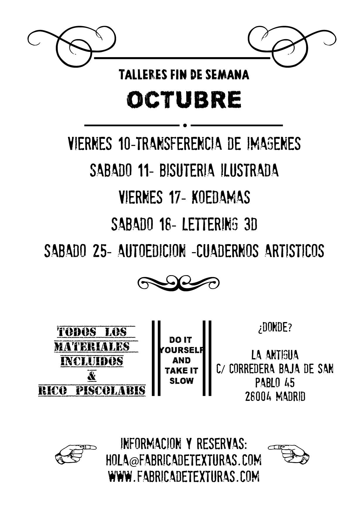 talleresa octubre-01