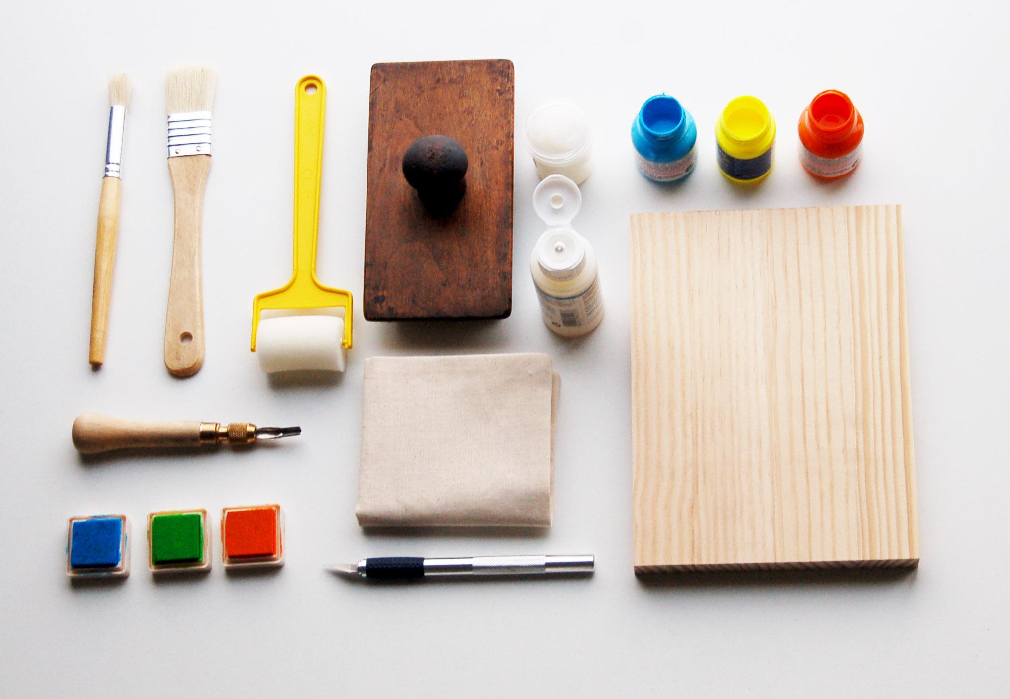 estampación manual herramientas