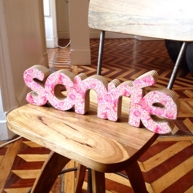 letras 3d sonrie